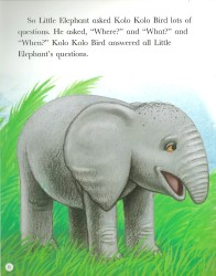 How the Elephant Got Its Trunk - Rigby Star
