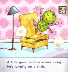 A Little Green Monster - Phonics Bug