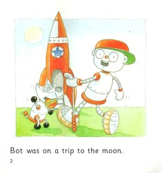 Bot on the Moon - Collins Big Cat Phonics